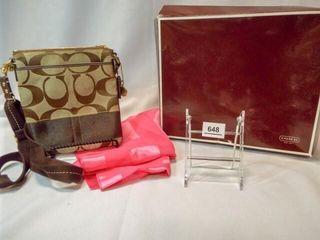 Coach Handbag  Dust Cover  Box