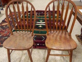 Wood Chairs  2