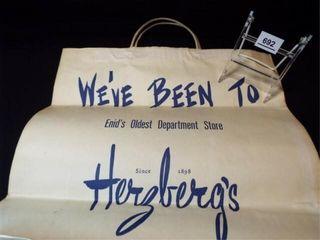 Herzberg s Store Bag  Enid  OK