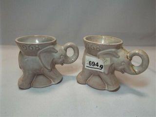 Frankoma 1968 GOP Mugs  2