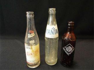 Glass Beverage Bottles Fanta  Crush  Elwing