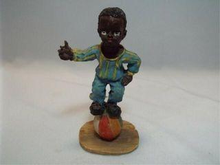 Boy on a Ball Figurine  4