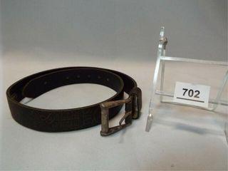 levi Strauss Cowhide Belt  28 70