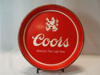 Coors Tin Tray  13