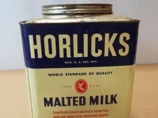 Horlicks Malted Milk Tin  10  x 7  x 7