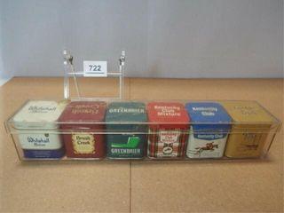 Tobacco Tin Set   no contents