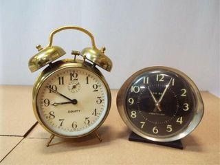 Alarm Clocks   Equity  Westclox  2