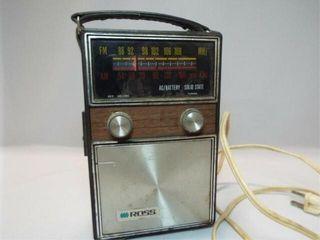Ross Portable Radio