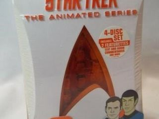 Star Trek Animated Series   4 DVD Set