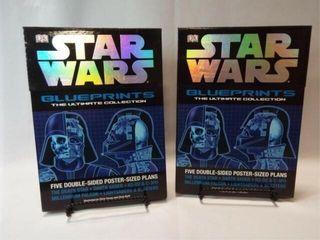 Star Wars Blueprints Posters   2 sets