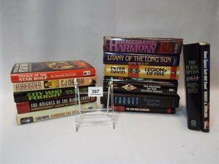 Hardback Books   mostly Sci Fi  10