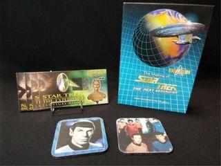 Star Trek Memorabilia  Collector Cards