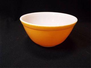 Gold Pyrex Bowl  7