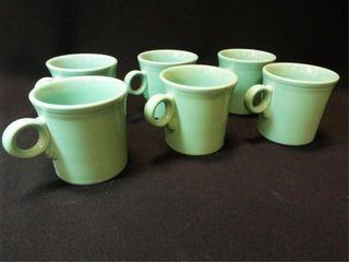 Green Fiesta Mugs  6