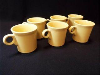 Yellow Fiesta Mugs  6