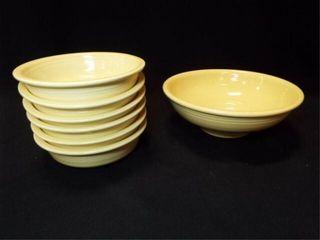 Yellow Fiesta Bowls  2 Sizes  7
