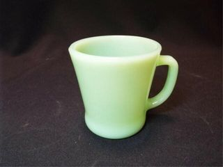 Jadeite Fire King Mug