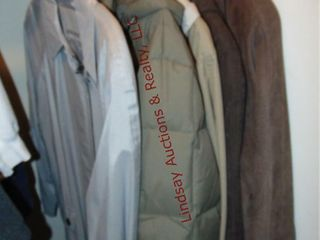 5 jackets  london Fog  Sunnice  Fleet Street