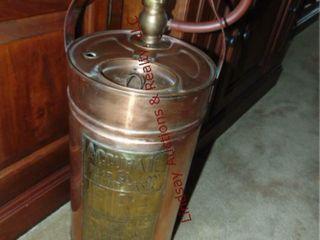 Copper Accurate 5gal pump tank fire extinguisher
