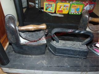1 cast iron  20 iron   other SEE PICS