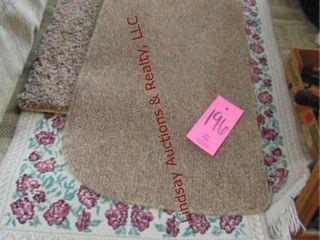 4 floor rugs Various Sizes