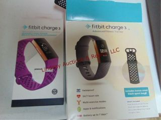 2 fitbit charge 3 SEE PICS