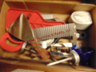 6 drawers of misc kitchen utensils  strainers