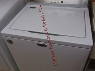 Maytag HE topload washer 27 x 27 x 43