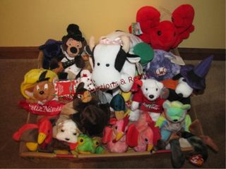 Flat of Ty beanie babies SEE PICS