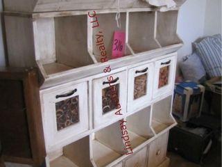 5 tier wood display shelf 47 5 x 14 x 69