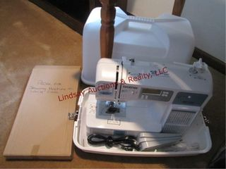 Brother XR1355 computerized sewing machine w