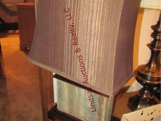 4 table lamps  36    24  7  20  tall