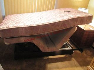 Twin size power lift bed