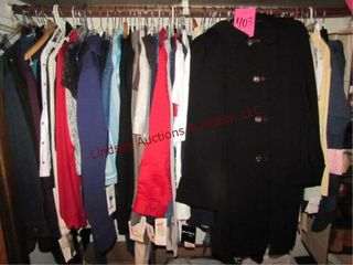 64  pcs of women s clothes All NEW w  Tags
