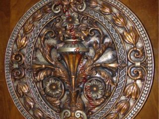 2 round wall sconces 18    Picture 24 x24