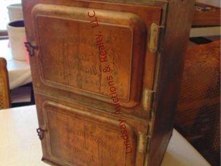 Antique copper 2 door oven by The Toledo Cooker Co