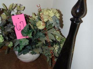 Floral arrangement   glass decor pcs