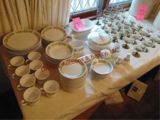 Noritake Progression chine 8pc plate setting set
