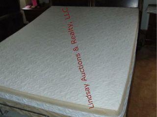 4pc  headboard  boxsprings  tempur pedic mattress