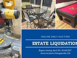 Online Estate Liquidation Auction