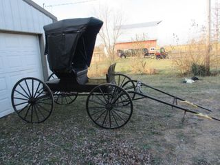 Valuable Coins, Farm Equipment, Stock Trailer, Horse Drawn Buggy & Cart And More