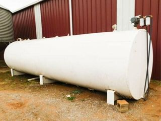 5 000 gallon diesel tank with electric pump