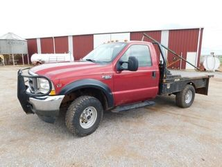 2002 Ford F350 single cab