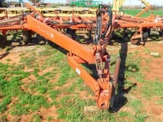 Richardson 30IJ sweep plow with pickers