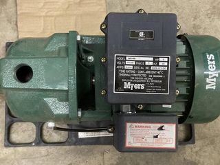 Myers Single Phase 1Hp Water Pump