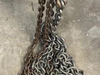 2 Log Chains & Clevis