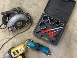 3 Power Tools & Whole Saw Includes