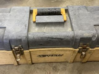 Yellow Tool Box & Contents Including
