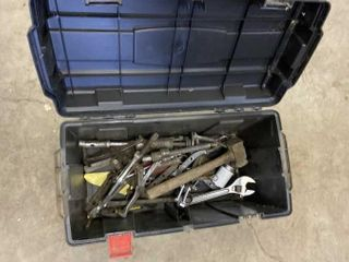 Toolbox W/Gear Pullers, Pullers