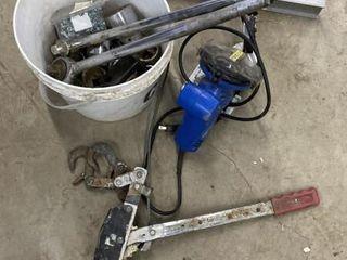 Box Tools Inc Sockets, Chain Saw Sharpner